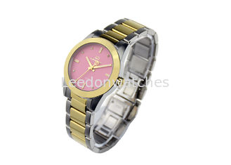 China Quartz Movt Stainless Steel Ladies Watch 10ATM Water Resistant Multi Color supplier