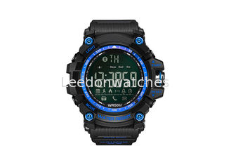 China Bluetooth Waterproof Plastic Sports Watch Intelligent Movement With Plastic Strap supplier