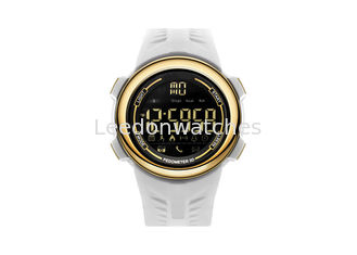 China Smart Outdoor Men Plastic Sports Watch 304 Stainless Steel With App Remind Function supplier