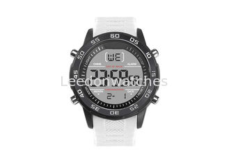 China Shock Resistant Digital Plastic Sports Watch 5cm Dial Diameter With Alarm Function supplier