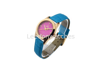 China Girls Stainless Steel Waterproof Wrist Watch With Japan 2035 Quartz Movt supplier