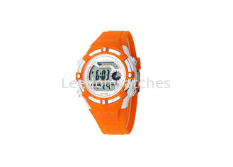 China Girls Children'S Digital Watch LED Display Plastic Case With Alarm Function supplier