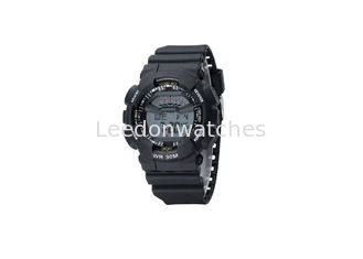 China Children' S Plastic Chronograph Watch , Kids Digital Watch With Alarm supplier