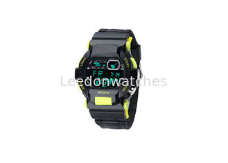 China Sports Style Electronic Children'S Digital Watch 30M Water Resistant SS Back Cover supplier