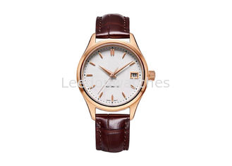 China Automatic Stainless Steel Watch Three Hand Antique Custom 9015 Movt Sapphire Glass supplier