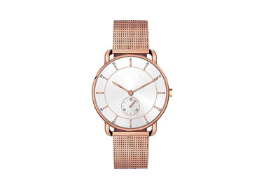 IP Plating Classic Alloy Case Watch Women Wristwatches Interchangeable Strap